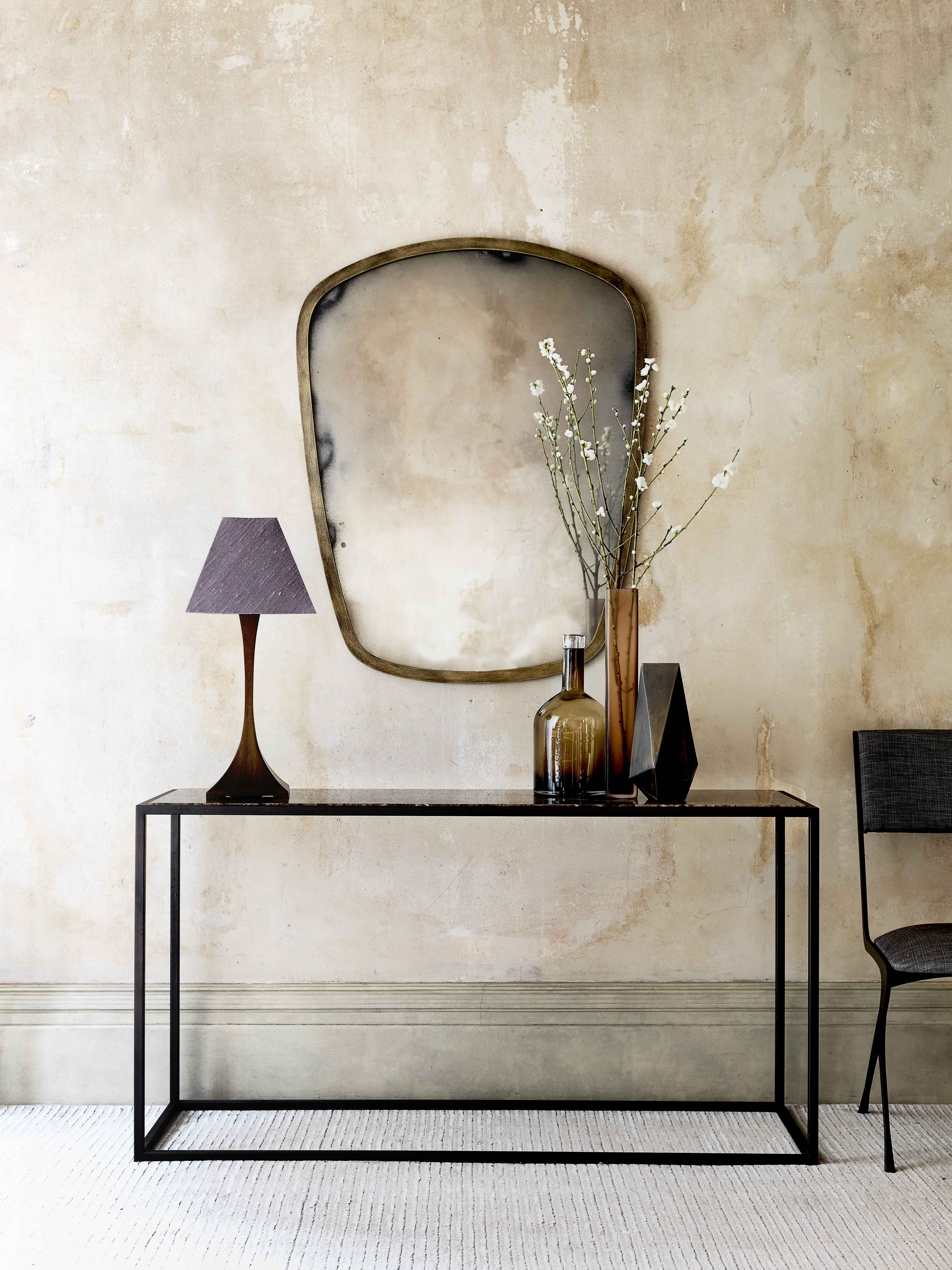 Hallway furniture with mirror  Simple elegant u timeless For the foyer entrance hall or hallway