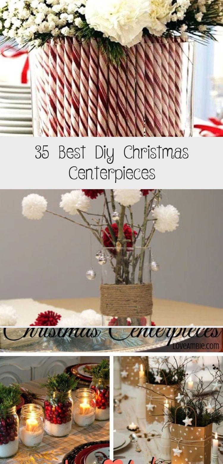 35 best diy christmas centerpieces  christmas