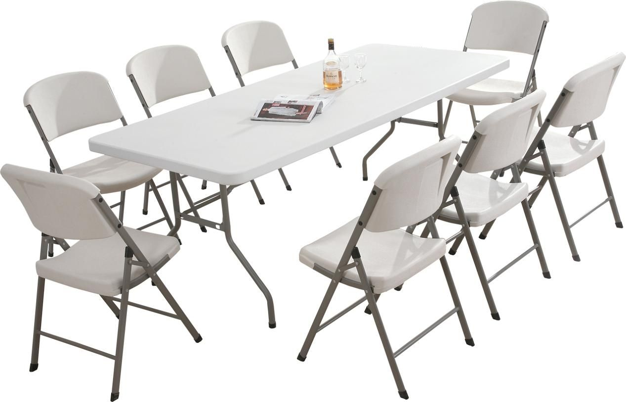 plastic folding table and chairs Premium Plastic Folding Chairs