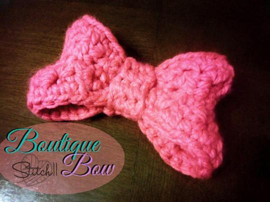 Crochet Bow Pattern #crochetbowpattern Crochet Bow Pattern #crochetbowpattern