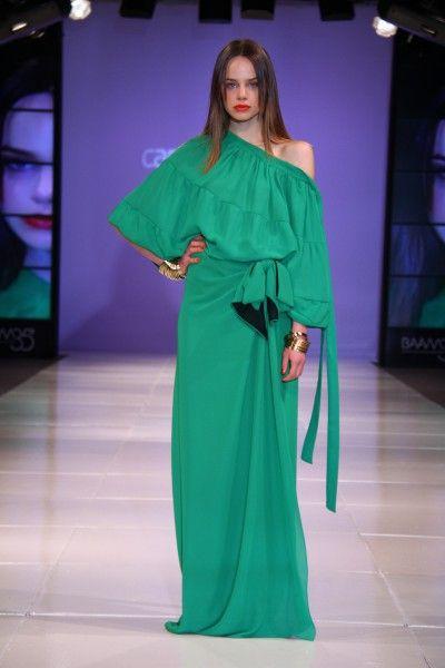 a81442266 Vestidos-de-moda-Carolina-Muller-2014-   moños   Vestidos de moda ...