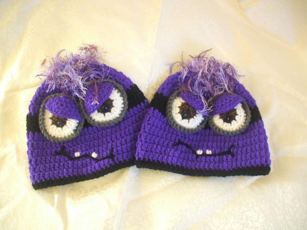 Purple/Bad Minion Hat