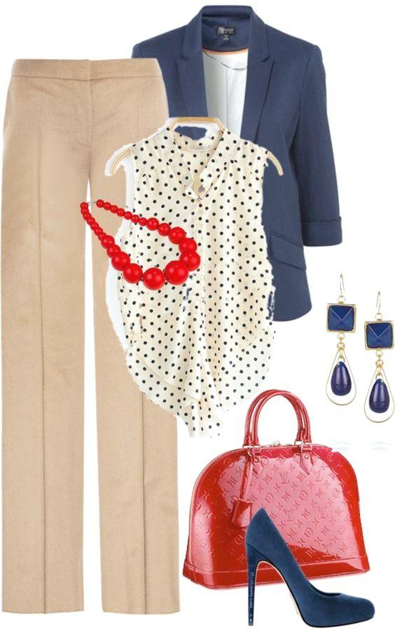 20 bonitos y elegantes trajes de Polyvore para la primavera