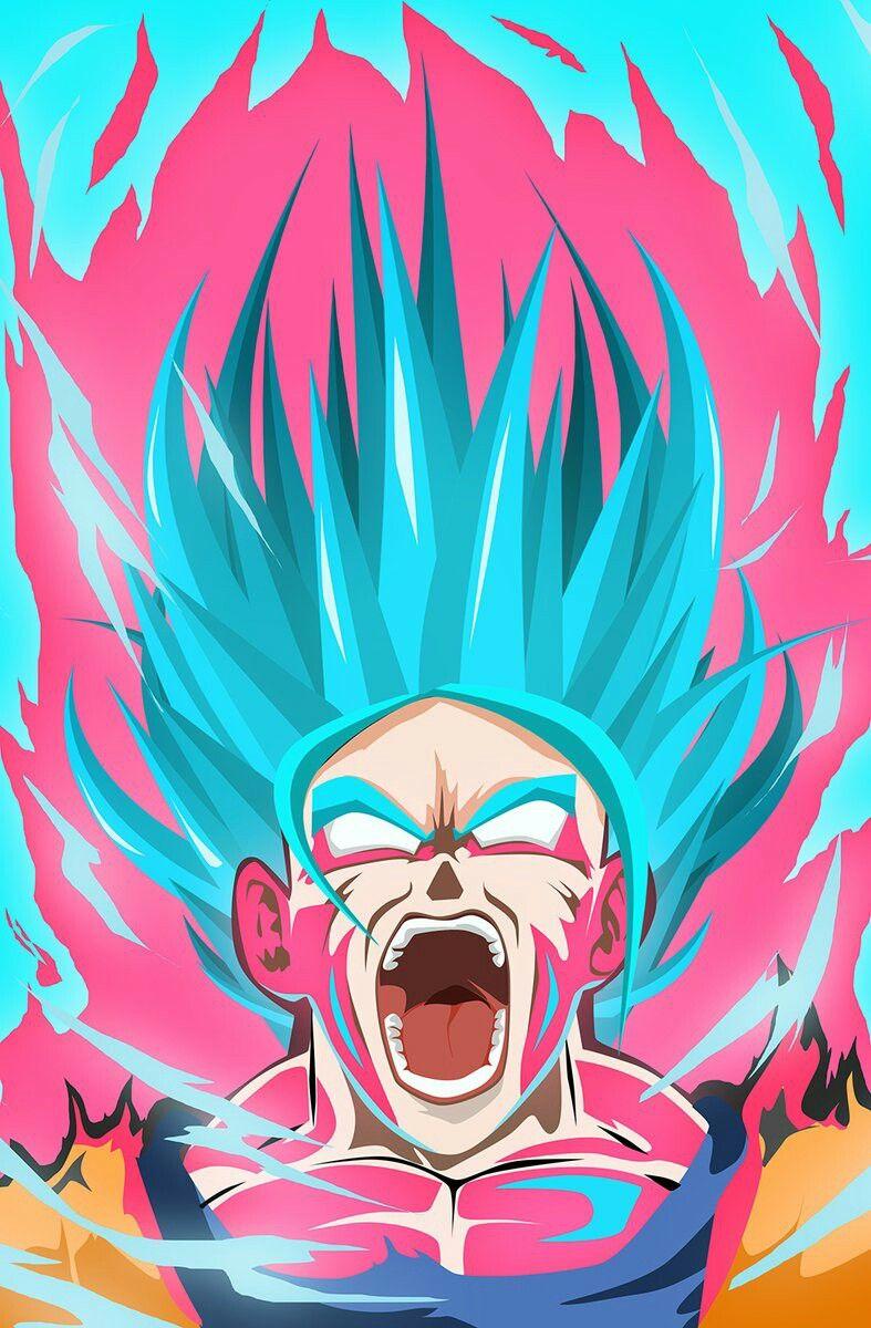 Goku Ssgss Kaio Ken X10 With Images Dragon Ball