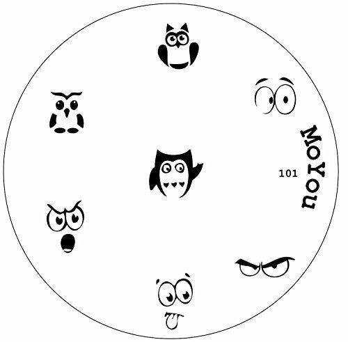 MoYou Nails Original Image Plate 101