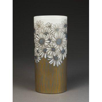 Rosenthal Vase Floral Golddekor