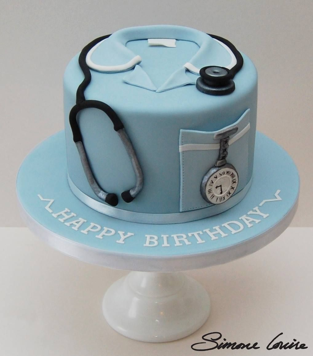 Doctor Cake Baking Pinterest Cake Birthday Cakes And Birthdays