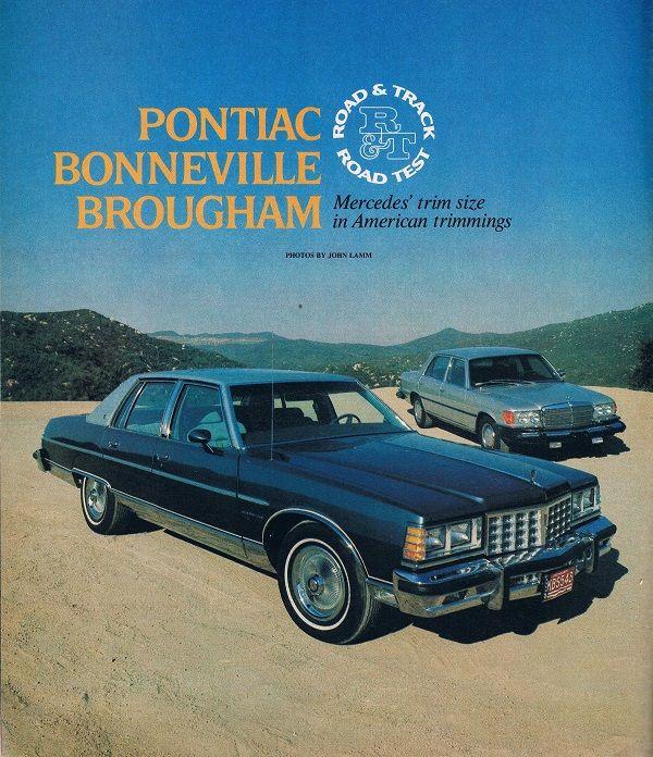 Vintage Review 1977 Pontiac Bonneville Brougham Pontiac Bonneville Pontiac Pontiac Parisienne