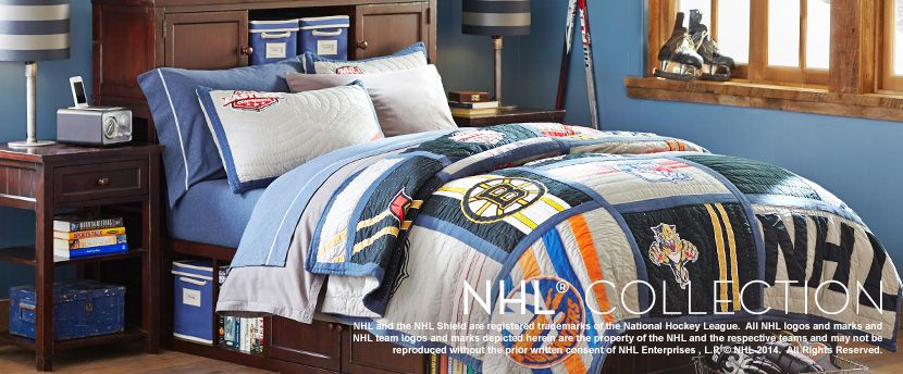 Charming Nhl Bed Sheets