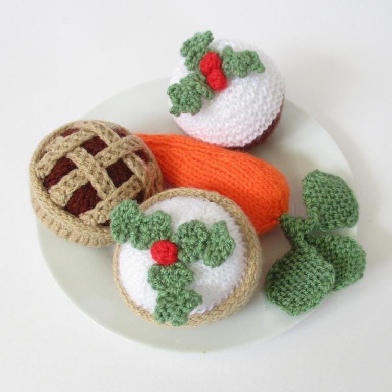 10 Stash-Busting Christmas Knitting Patterns | Santa, Knitting toys ...