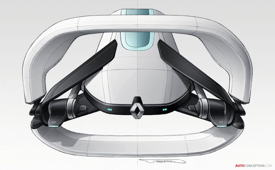 Renault Symbioz Concept Merges Car Design With Architecture Car