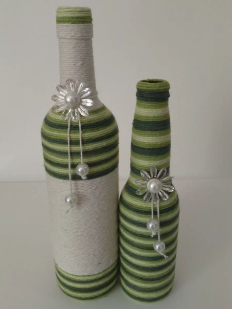 How To Use Waste Bottles For Decoration Pinconcha Ainsa On Decorar Botellas  Pinterest  Bottle Wine