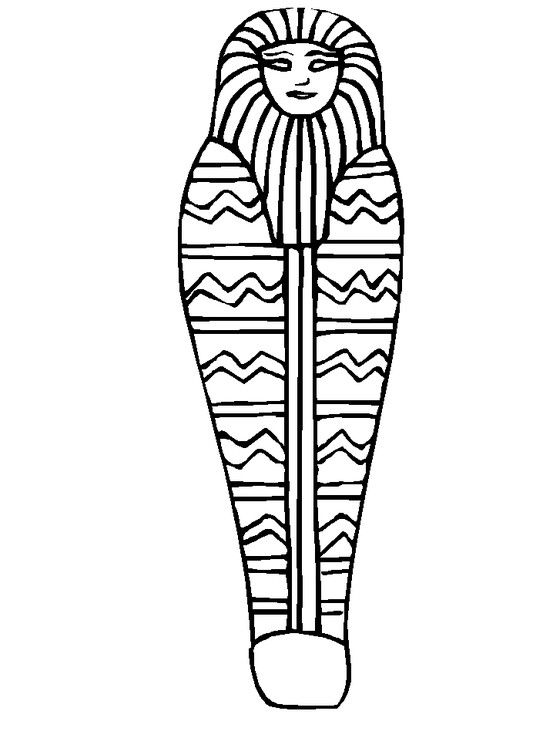 Mummy Coloring Page Egyptian Drawings Ancient Egypt Projects Ancient Egypt For Kids