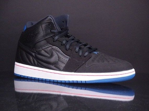 9ebebf9b4eb4 AirJordan 1 Retro 99 Black Sport Blue Infrared  sneakers