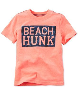 Carter's Toddler Boys' Beach Hunk T-Shirt & Reviews - Shirts & Tops - Kids - Macy's