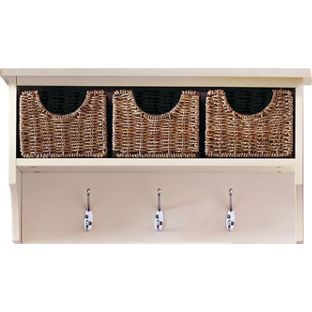 Malvern 3 basket wall storage unit ivory from homebase malvern 3 basket wall storage unit ivory from homebase solutioingenieria Images