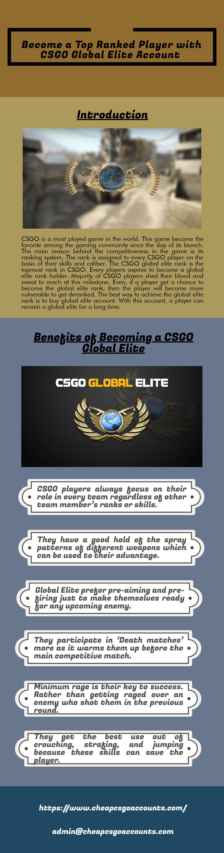 Pin On Csgo Global Elite Account