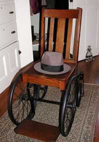Fdr S Wheelchair Vintage Chairs Vintage Medical