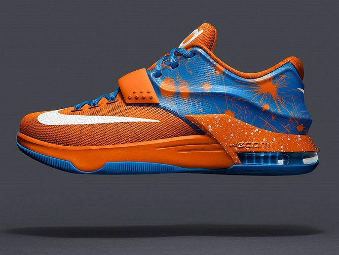 ... detailed images 5b9bc 0211a KD 7 Option VII ID Total Orange Armory  Slate Armory Blue ... 43dafe2db