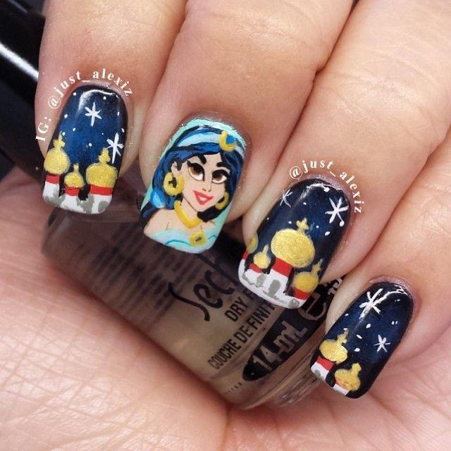 just_alexiz jasmine #nail #nails #nailart | See more nail designs at ...