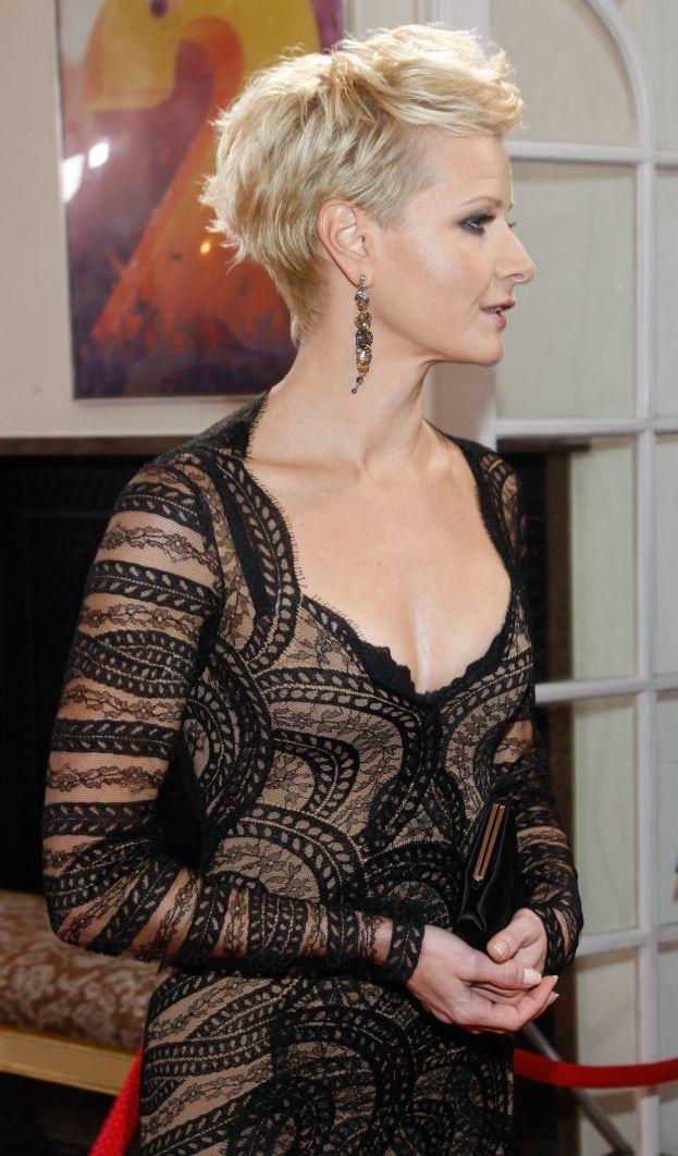 Fryzura Kożuchowskiej Szukaj W Google Fryz Choppy Hair