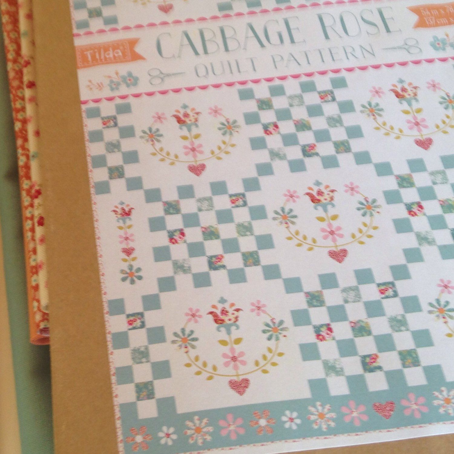 Tilda Cabbage Rose Quilt Kits Are Now Ready Quilt Kits