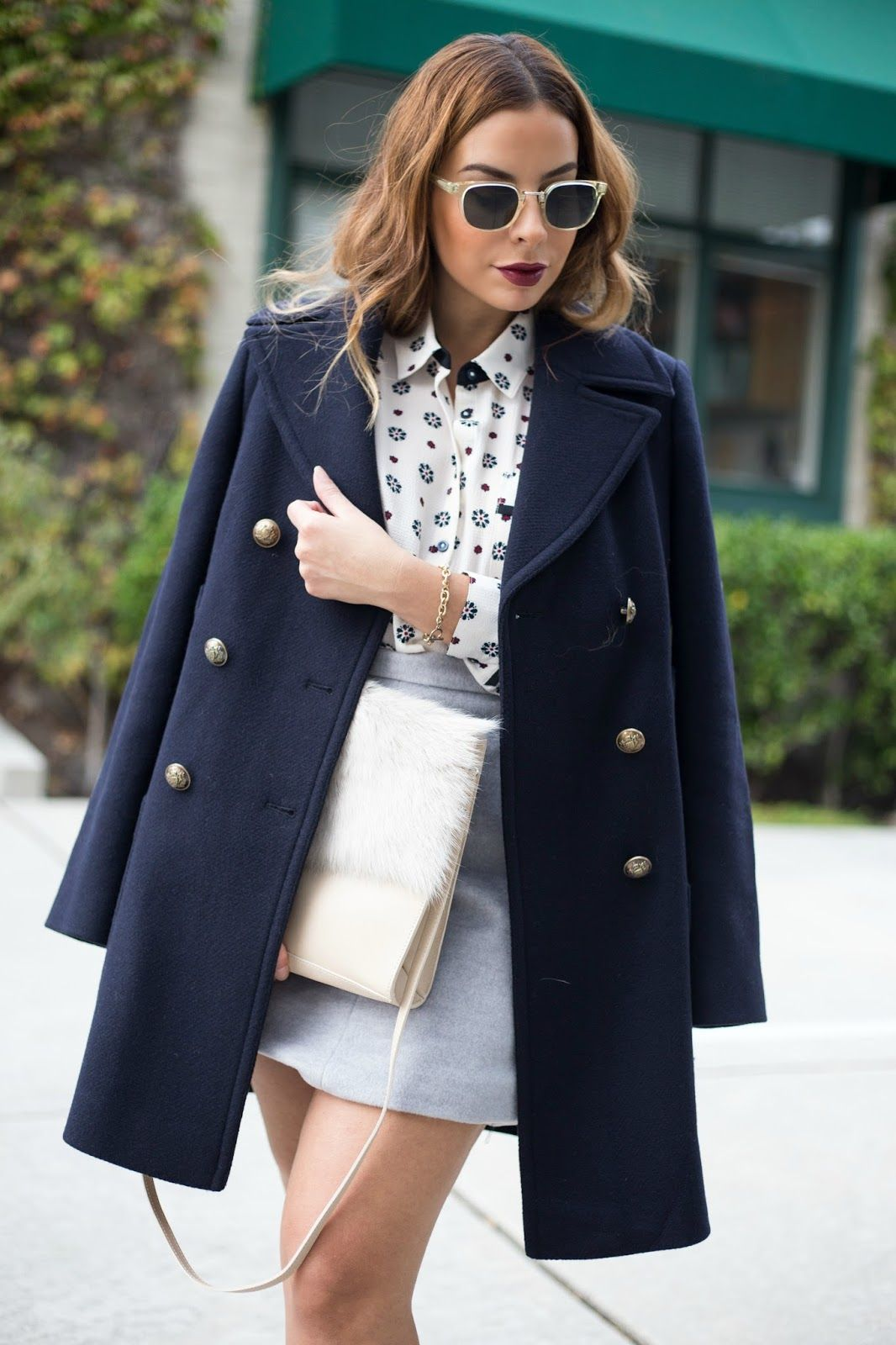 ed8369cc8bd4 Navy Peacoat   5 Winter Essentials   Marks and Spencer ...