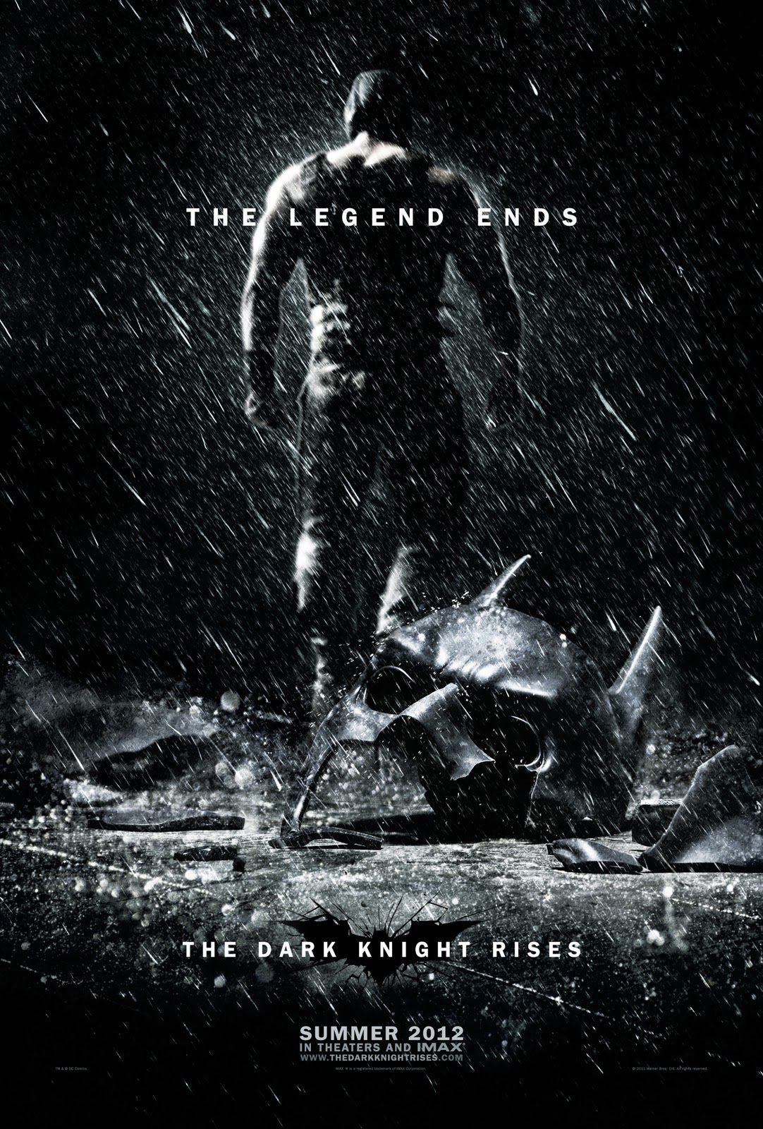 New The Dark Knight Rises Poster Revealed Dark Knight