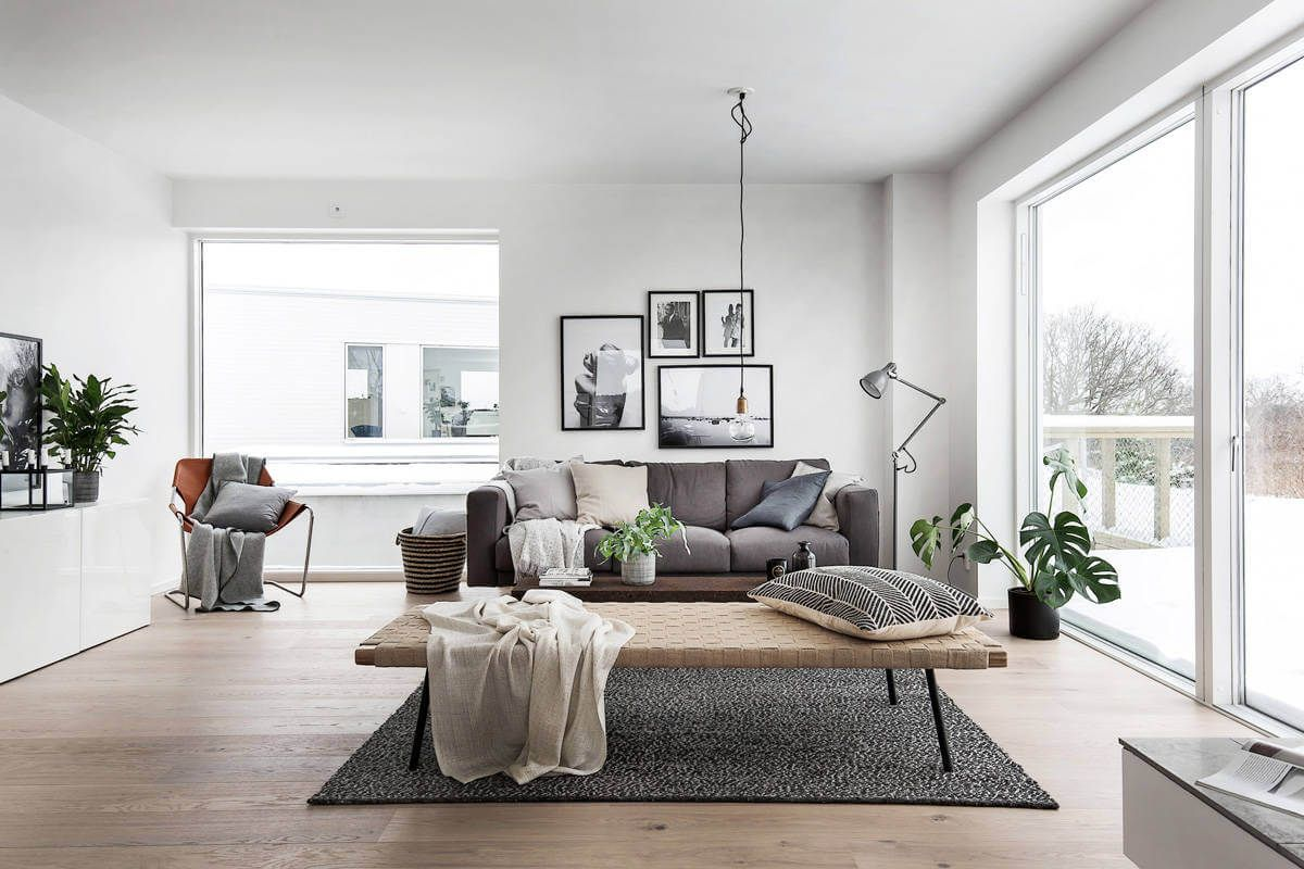 House In Hoganas Homeadore Scandinavian Design Living Room Living Room Scandinavian Minimalist Living Room