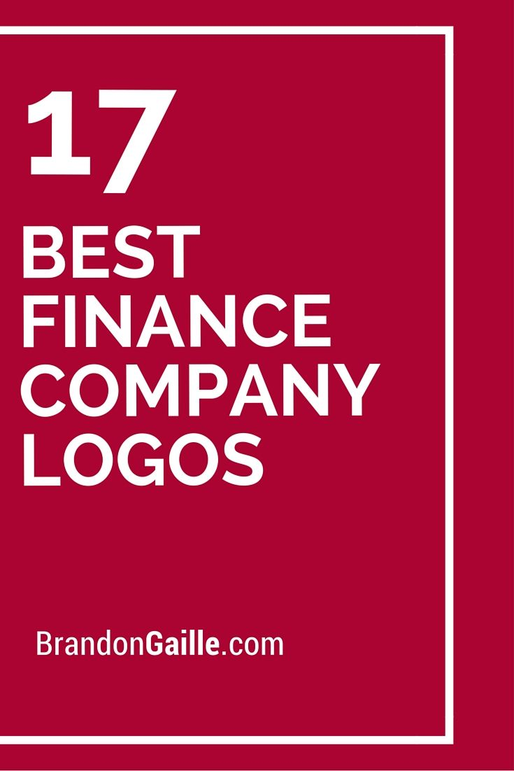List of the 17 Best Finance Company Logos   Company logo ...