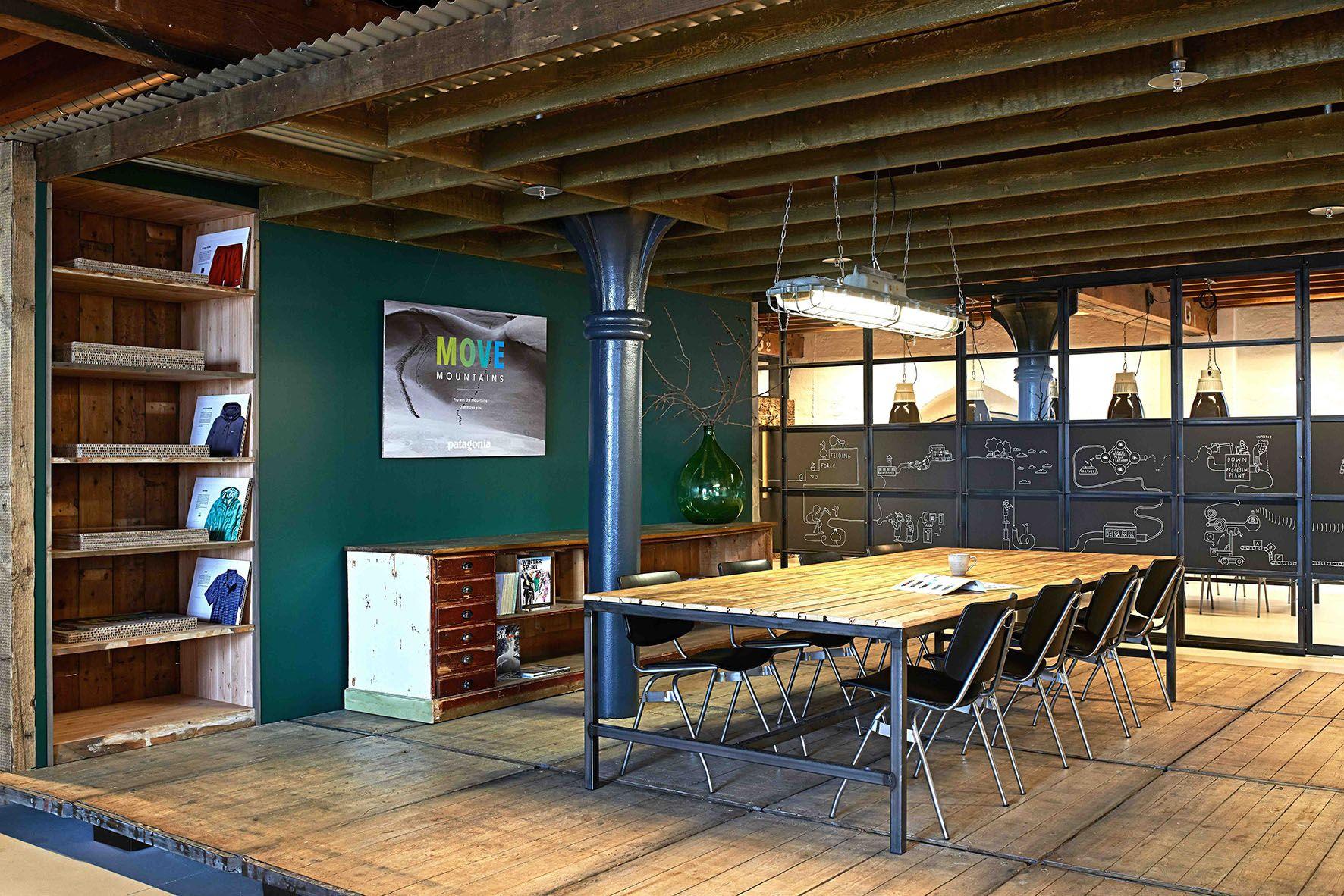 Patagonia, Interior Design, Office, European HeadQuarters, Amsterdam,  Concept, Design,