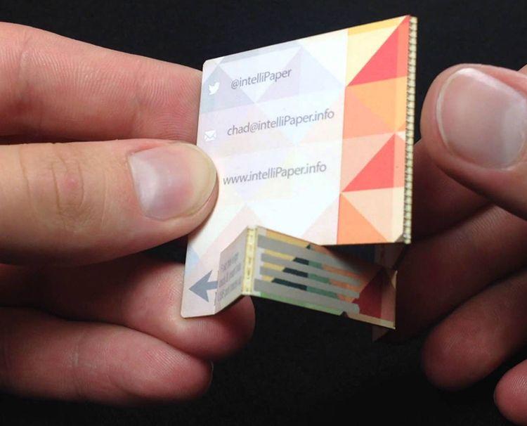 Nfc Visitenkarten Von Moo Zusammen Mit Der Nfc Business Card