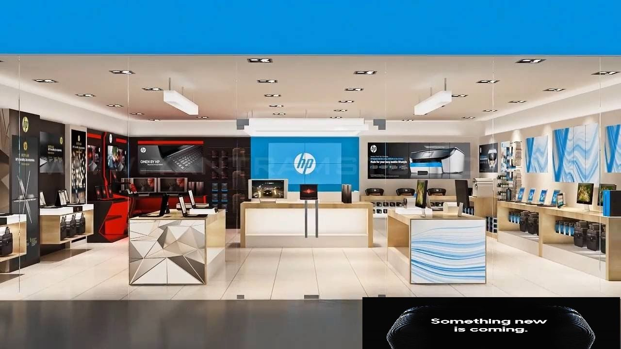 Hp Laptop Store In Jaipur Best Hp World In Jaipur Best Store In Jaipur Hp Shop In Jaipur Best Place For Buying Hp Laptop Store Design Interior