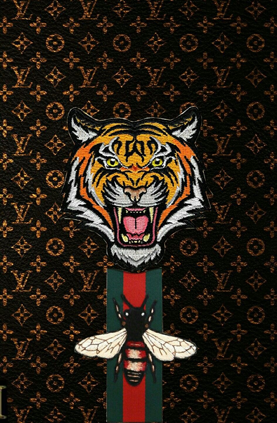 Gucci LV Aesthetic iphone wallpaper, Iphone wallpaper