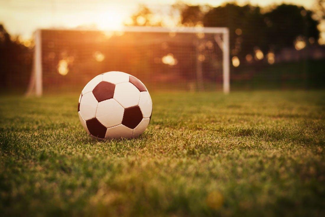 Soccer Field Sunset Soccer Photography Soccer Soccer Ball