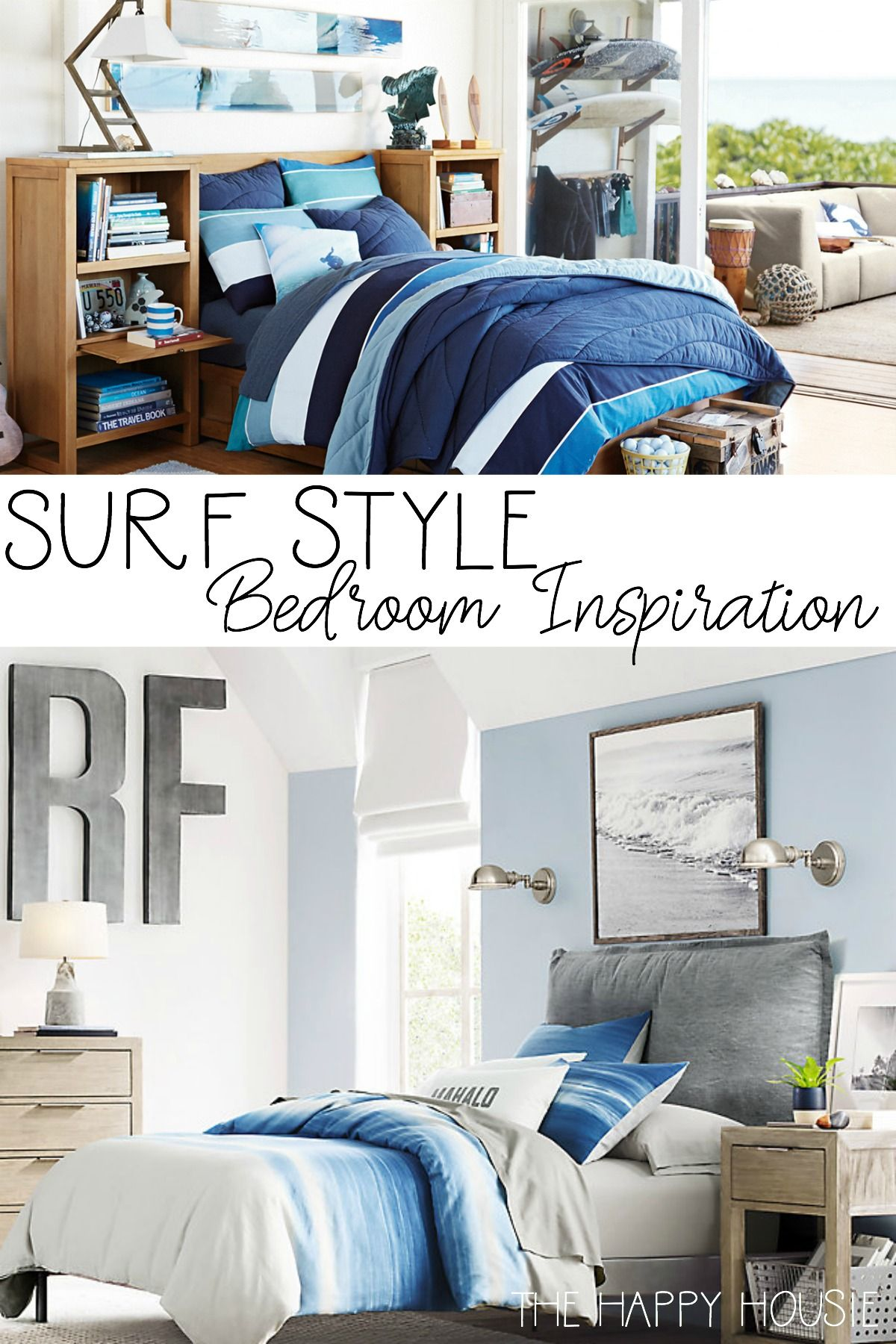 surf style bedroom inspiration for the home bedroom bedroom rh pinterest com  surf shack style bedroom