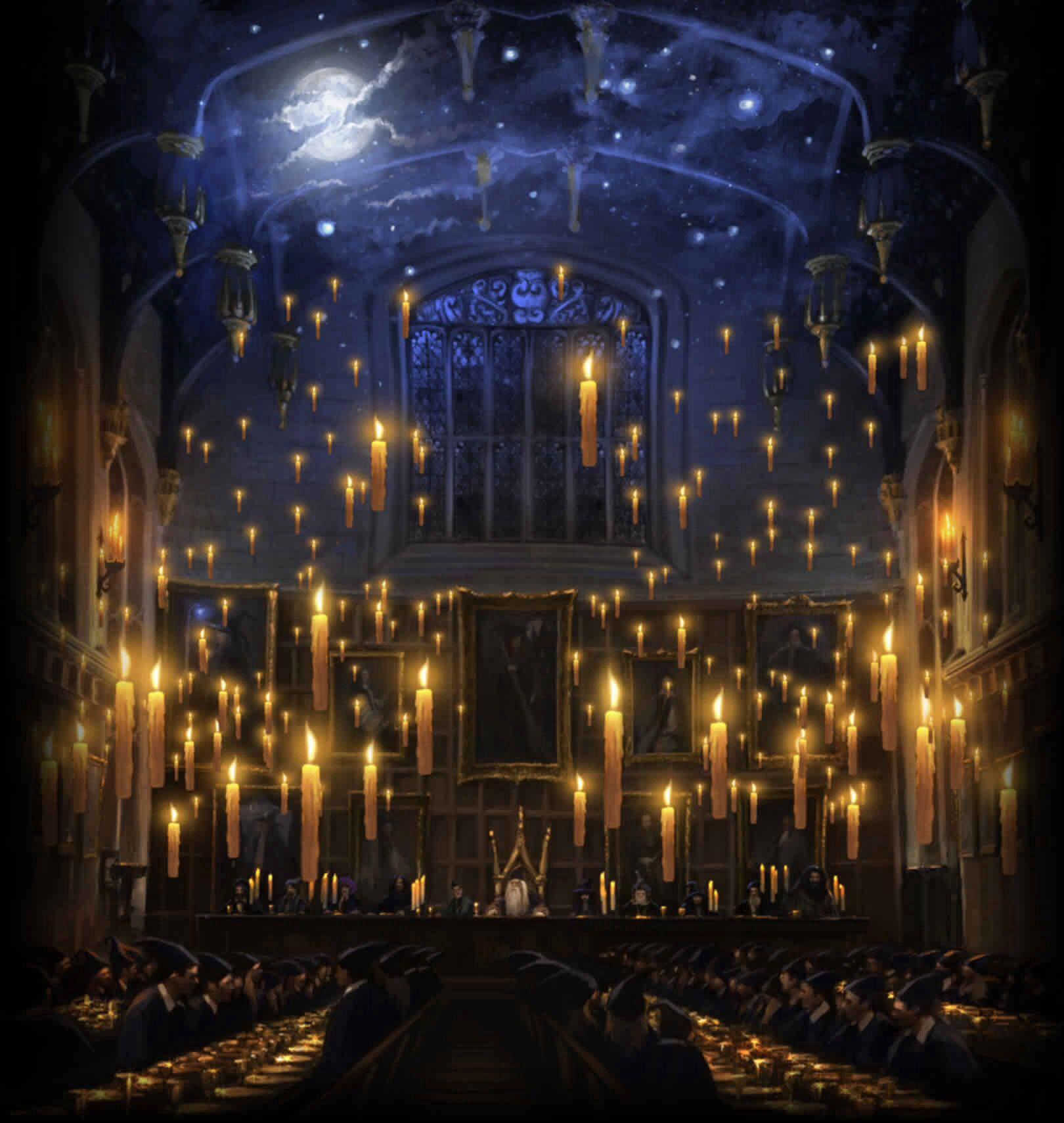 Hogwarts Harry Potter Wiki Harry Potter Wallpaper Hogwarts Great Hall