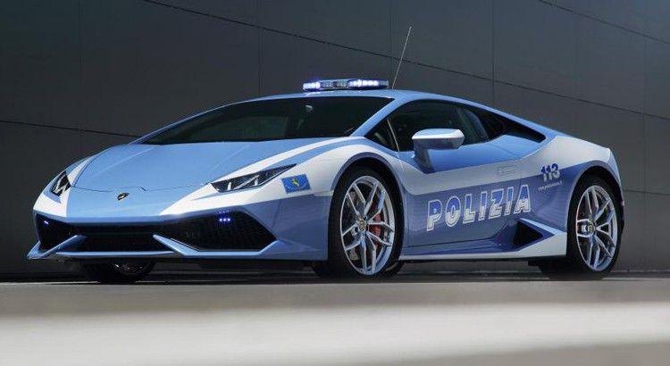 Bien connu Lamborghini Huracan pour la Police italienne © | Les voitures de  NB09