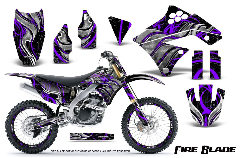 AMR Flashback Custom Dirt Bike Graphics Kit