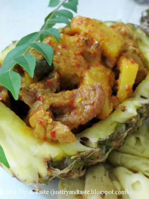 Resep Kari Ayam Dan Nanas Masakan Indonesia Resep Ayam Memasak