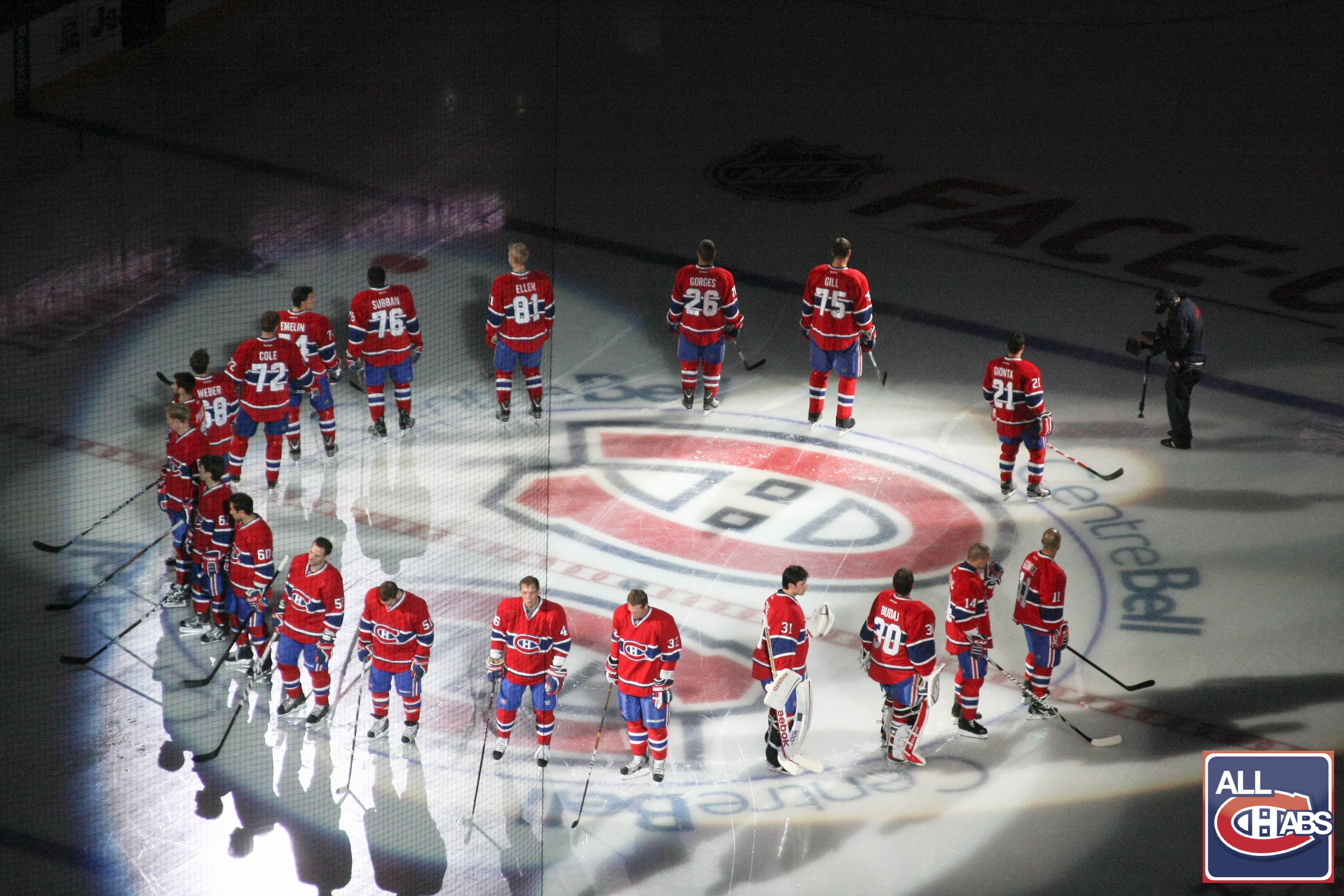 Watch a live Canadiens Game at the Belle Centre Montreal