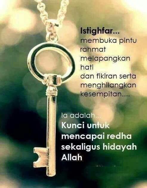 Kunci Capai Redha Allah Inspirational Words Instagram Islamic