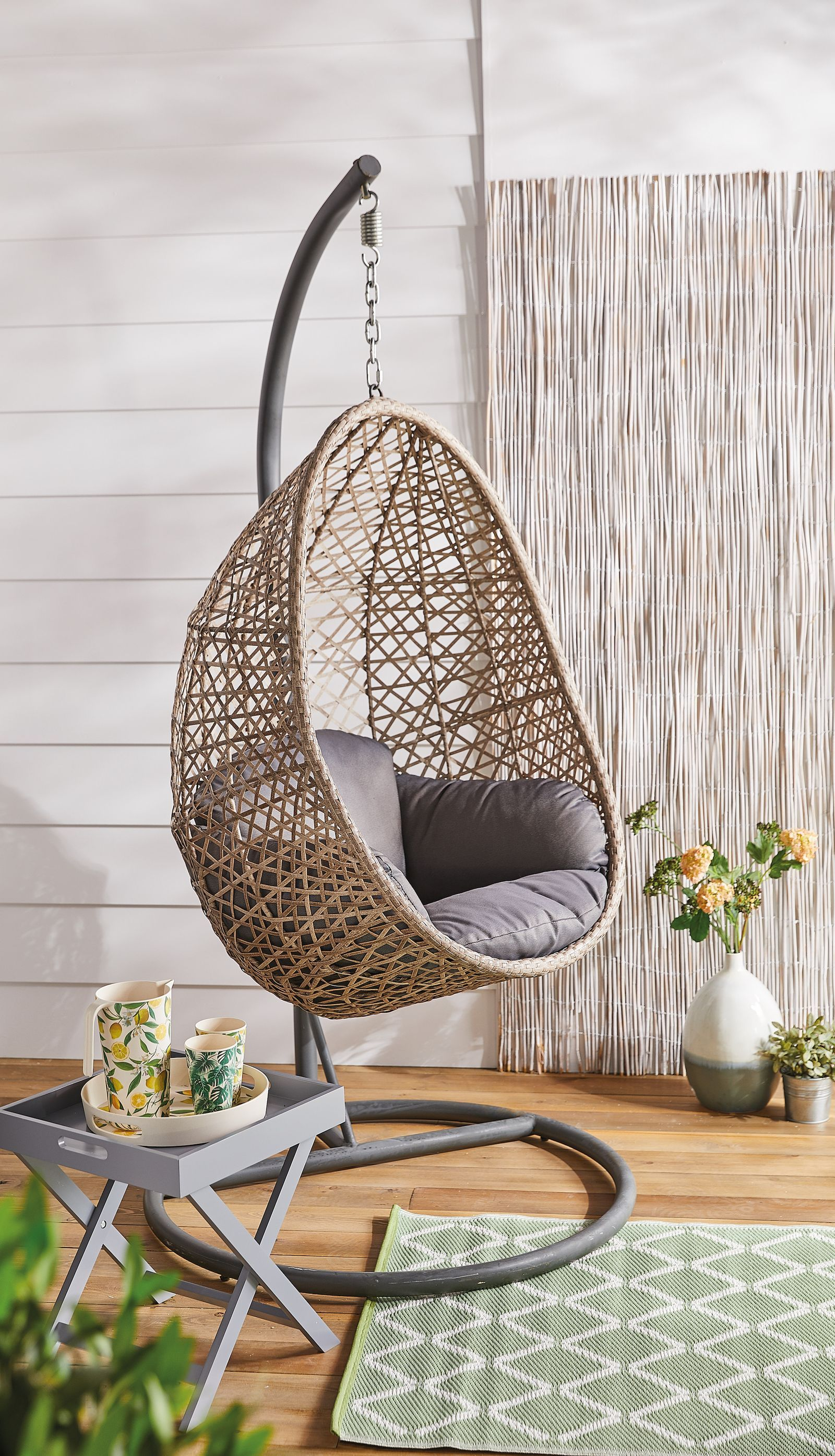 Aldi is selling a hanging egg chair Hanging egg chair