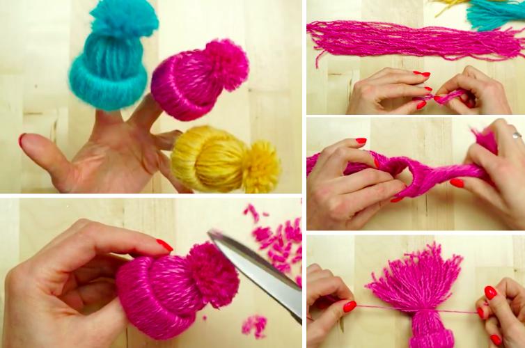 Fabriquer De Petits Bonnets En Laine Projets à Essayer Bonnet En