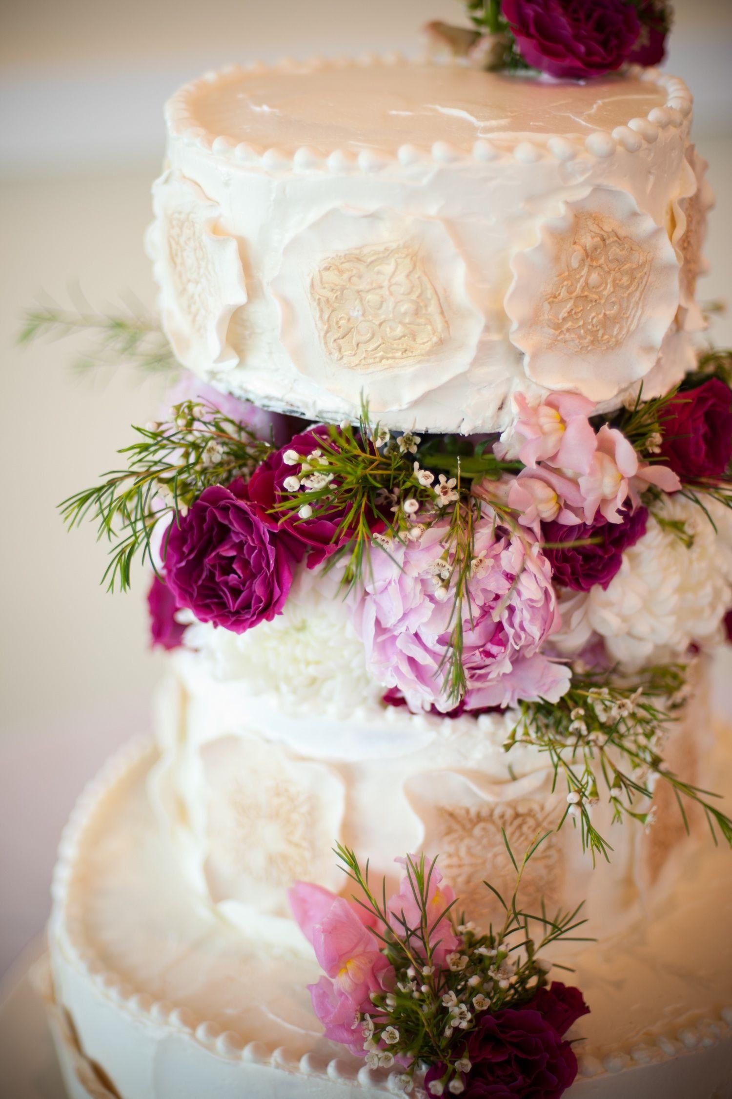 ELEGANT PINK WEDDING elegantweddingcakepinkweddingflowers