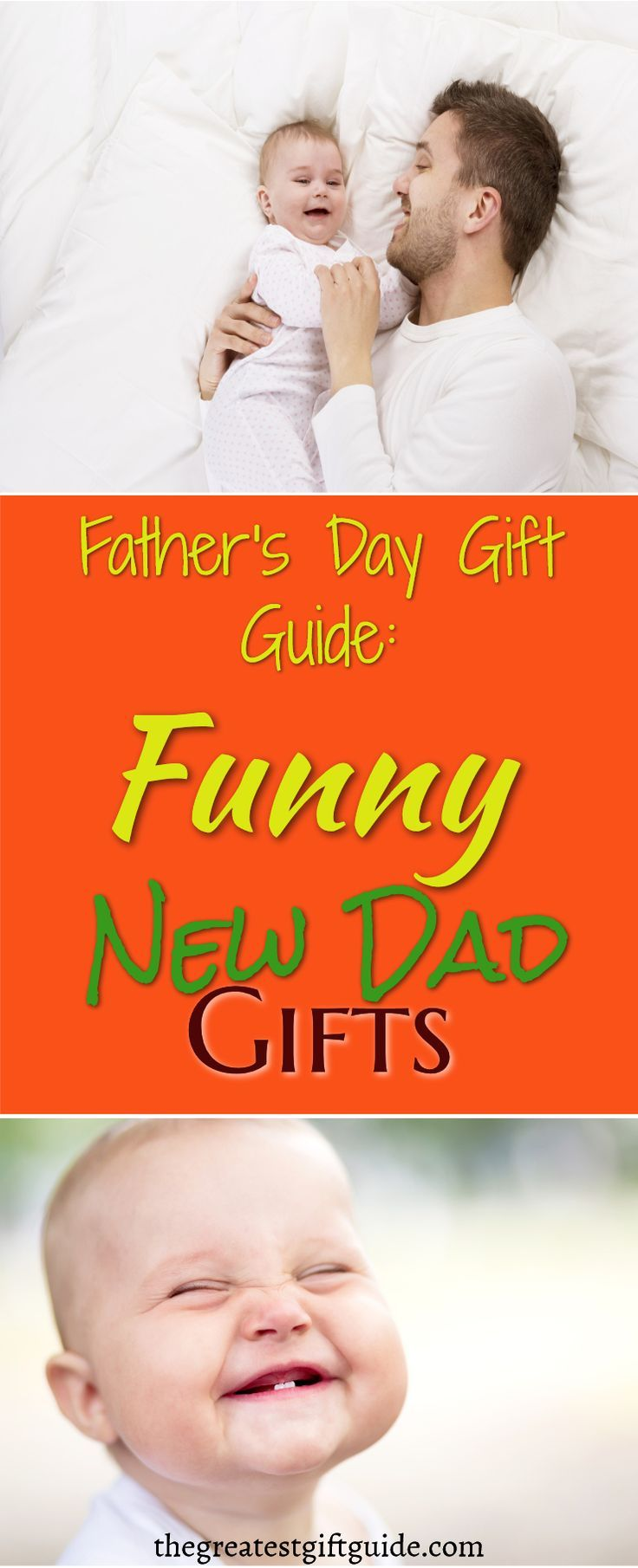 A bunch of hilariously funny new dad gifts gifts for new