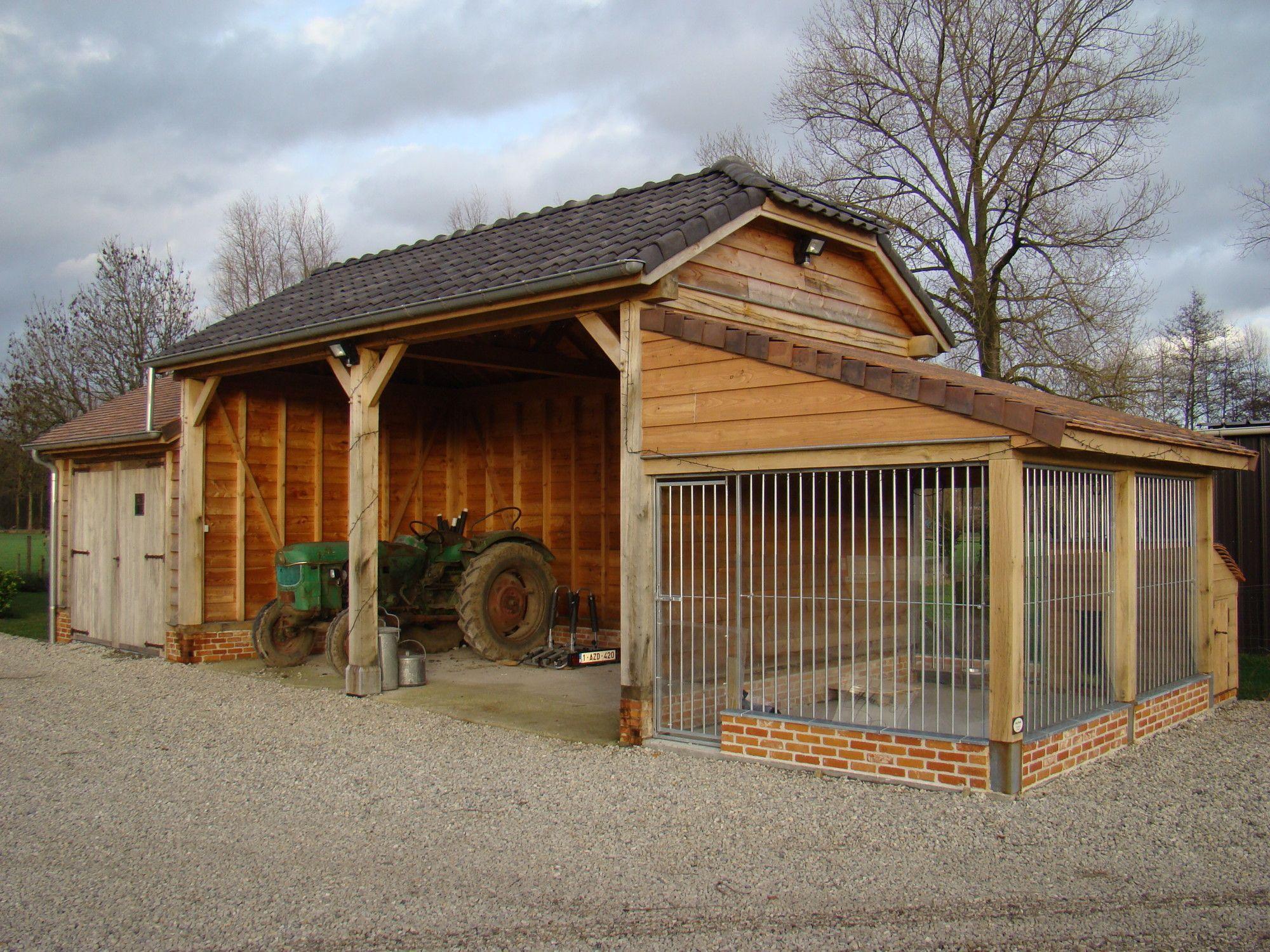 Carport voor paardevan Carport & garage Realisaties