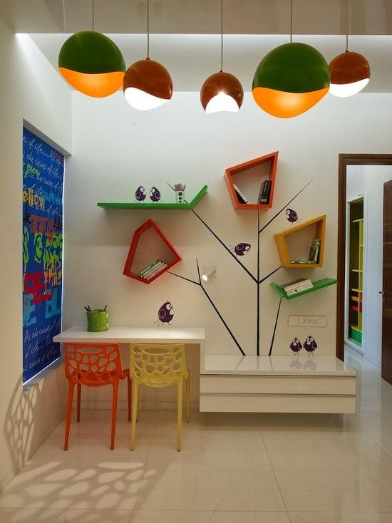 Dise o de interiores arquitectura 40 ideas para dise ar for Dormitorio ninos diseno