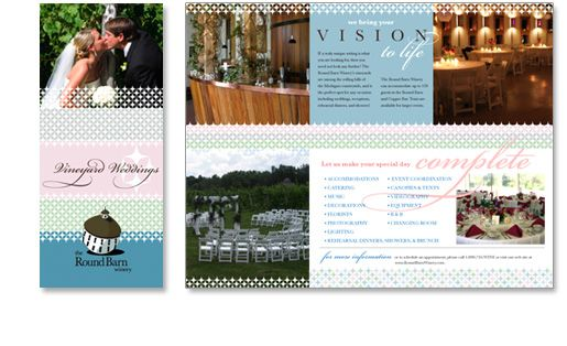 www.roundbarnwinery.com Round Barn Winery wedding brochure ...