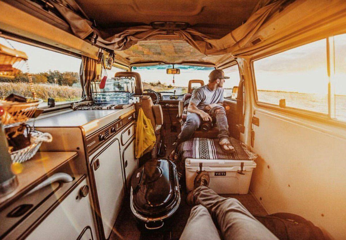 Embedded image van life acadia national park camping